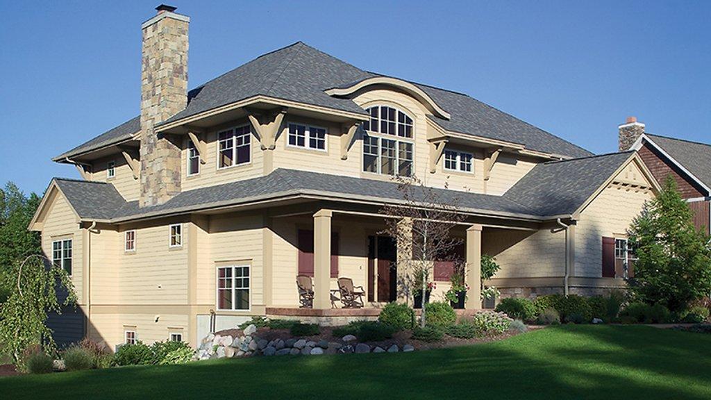 Craftsman style house plan 4 beds 3 5 baths 3130 sq ft for Danze e davis architects