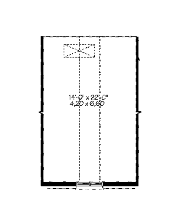 European Floor Plan - Other Floor Plan Plan #23-2535