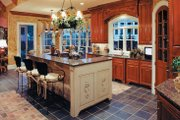 European Style House Plan - 4 Beds 4.5 Baths 4012 Sq/Ft Plan #437-66 Interior - Kitchen