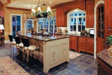 Dream House Plan - European Interior - Kitchen Plan #437-66