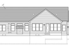 Ranch Exterior - Rear Elevation Plan #1010-76