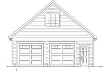 Country Exterior - Front Elevation Plan #932-130