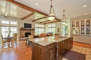 European Style House Plan - 5 Beds 3.5 Baths 4427 Sq/Ft Plan #901-59 Photo