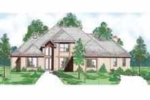House Plan Design - European Exterior - Front Elevation Plan #52-282