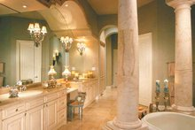 Dream House Plan - Mediterranean Interior - Master Bathroom Plan #930-330