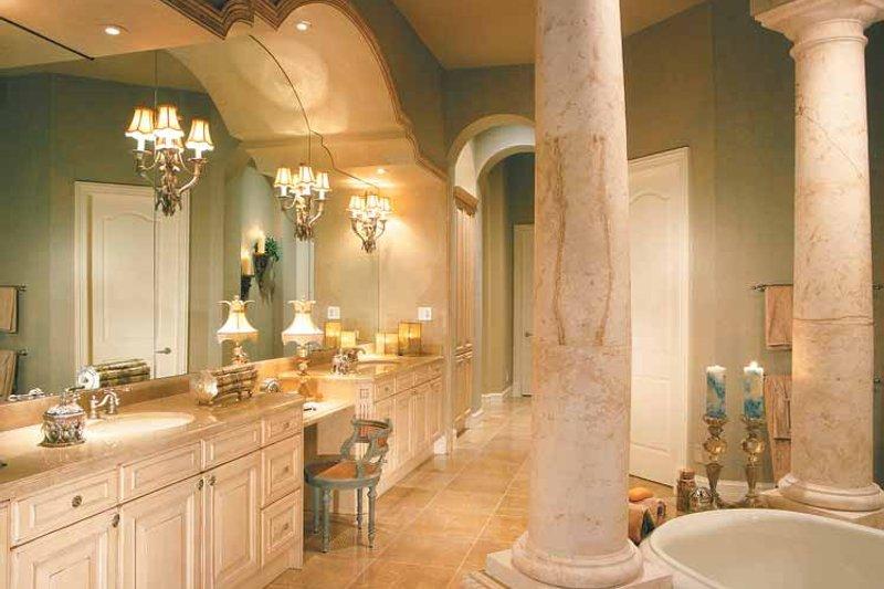 Mediterranean Interior - Master Bathroom Plan #930-330 - Houseplans.com