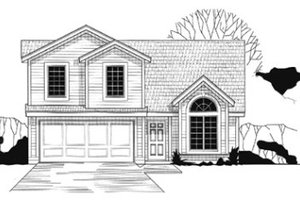 Traditional Exterior - Front Elevation Plan #67-124