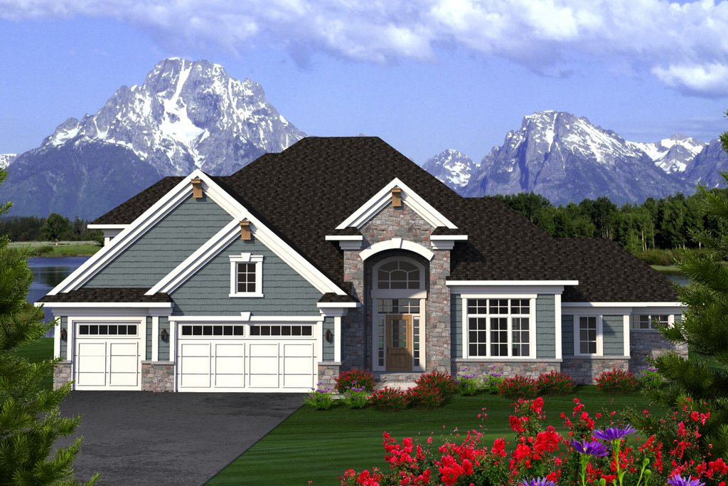 southern style floor plans southern style house plan 3 beds 3 baths 2604 sq ft plan 70 1227 floorplans com 7949