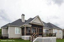 Traditional Exterior - Rear Elevation Plan #929-741