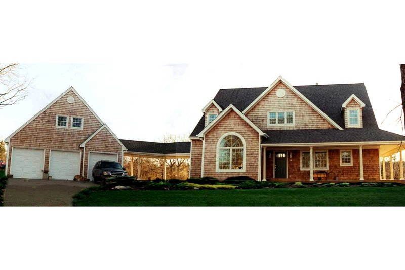 Dream House Plan - Country Exterior - Front Elevation Plan #3-259