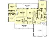 Farmhouse Style House Plan - 4 Beds 2.5 Baths 2607 Sq/Ft Plan #430-232 Floor Plan - Main Floor