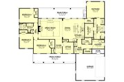 Farmhouse Style House Plan - 4 Beds 2.5 Baths 2607 Sq/Ft Plan #430-232 Floor Plan - Main Floor