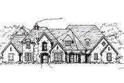 European Style House Plan - 4 Beds 4.5 Baths 4995 Sq/Ft Plan #141-218
