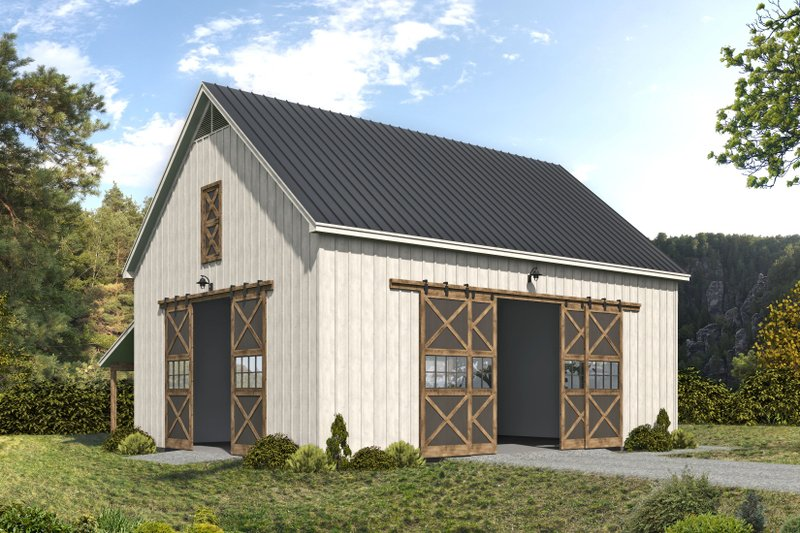 Home Plan - Country Exterior - Front Elevation Plan #932-379