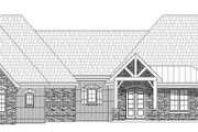 Country Style House Plan - 4 Beds 3.5 Baths 3565 Sq/Ft Plan #932-147 Exterior - Front Elevation