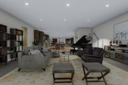 Farmhouse Style House Plan - 3 Beds 3 Baths 10240 Sq/Ft Plan #1060-83 Interior - Family Room