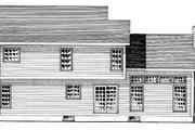 Farmhouse Style House Plan - 3 Beds 2.5 Baths 2180 Sq/Ft Plan #316-108 Exterior - Rear Elevation