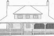Farmhouse Style House Plan - 3 Beds 2.5 Baths 2200 Sq/Ft Plan #81-495 Exterior - Rear Elevation