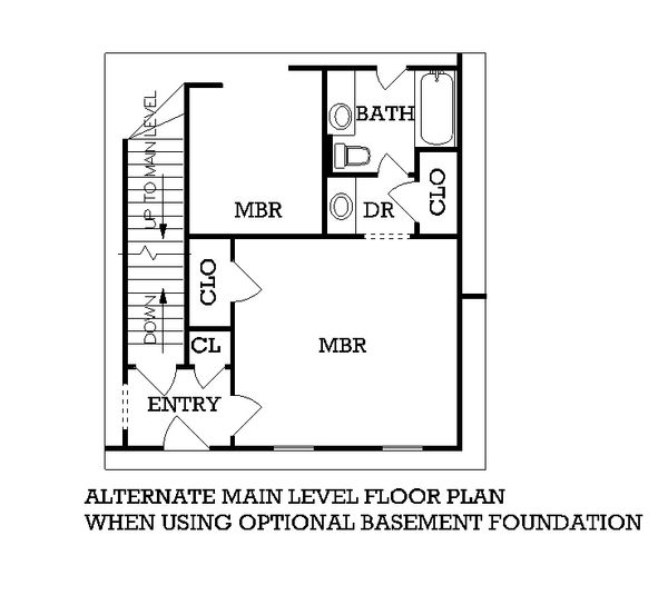 Traditional Floor Plan - Other Floor Plan Plan #45-116