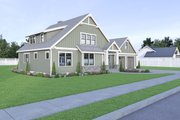 Craftsman Style House Plan - 3 Beds 2.5 Baths 2074 Sq/Ft Plan #1070-67 Exterior - Other Elevation