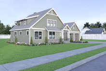 House Plan Design - Craftsman Exterior - Other Elevation Plan #1070-67