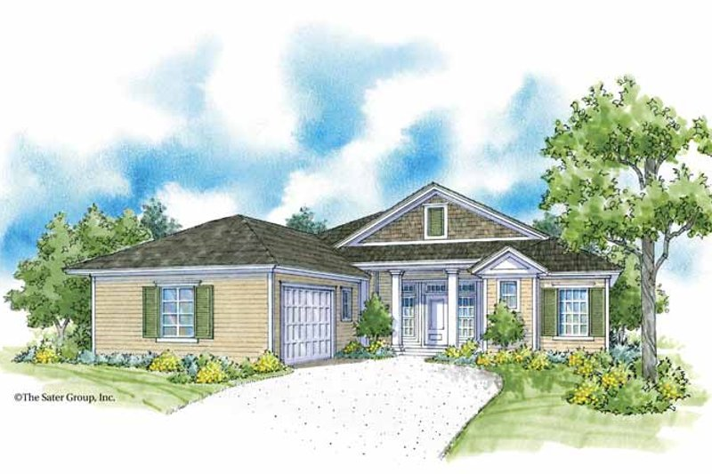 Country Exterior - Front Elevation Plan #930-368 - Houseplans.com