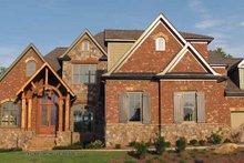 House Plan Design - European Exterior - Front Elevation Plan #54-359