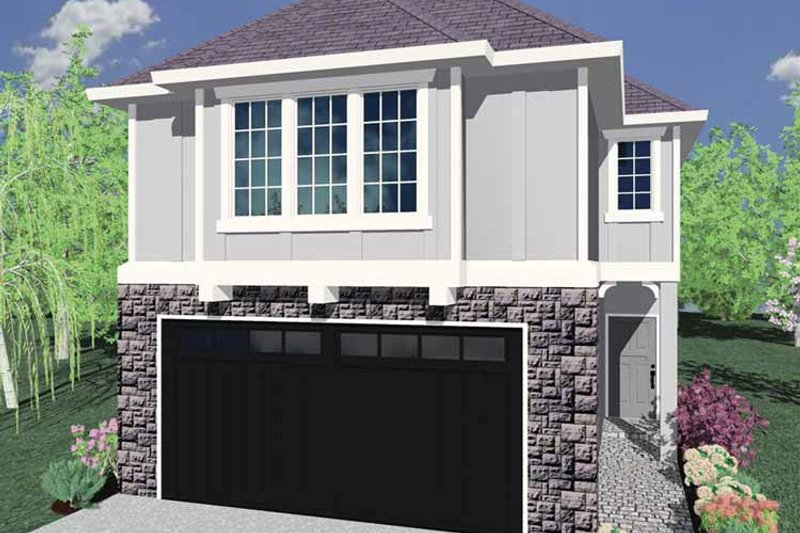 Traditional Exterior - Front Elevation Plan #509-251