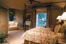 Mediterranean Interior - Bedroom Plan #930-314