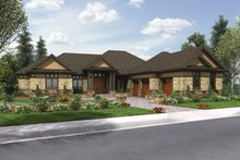 Home Plan - Craftsman Exterior - Front Elevation Plan #48-904