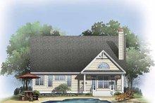 Craftsman Exterior - Rear Elevation Plan #929-814