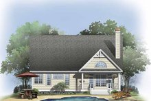 House Plan Design - Craftsman Exterior - Rear Elevation Plan #929-814