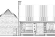 Country Exterior - Rear Elevation Plan #137-372