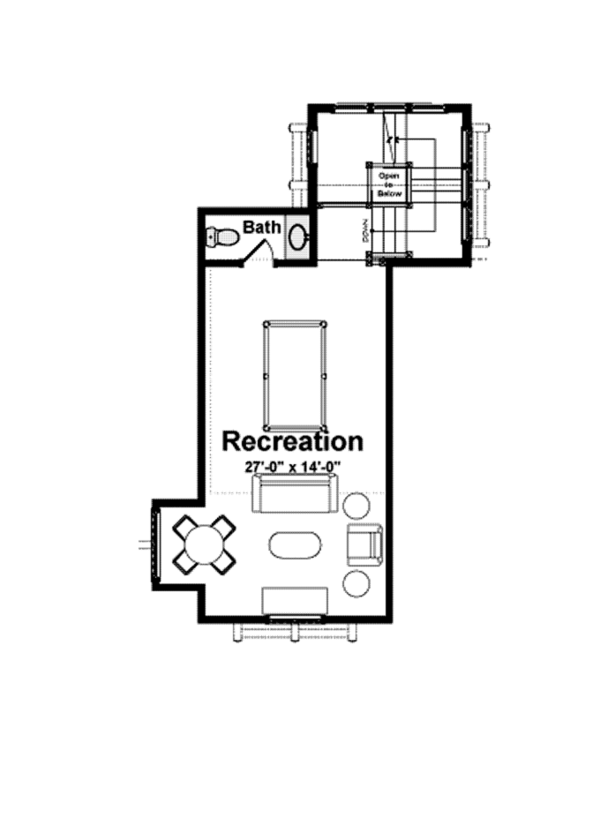 Country Floor Plan - Other Floor Plan Plan #928-214