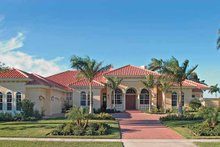 Home Plan - Mediterranean Exterior - Front Elevation Plan #930-321