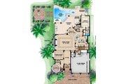 Beach Style House Plan - 4 Beds 4.5 Baths 6509 Sq/Ft Plan #27-527 Floor Plan - Main Floor Plan