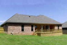 House Plan Design - European Exterior - Rear Elevation Plan #430-52