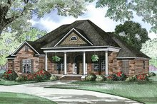 Traditional Exterior - Front Elevation Plan #17-2890