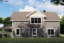 House Plan Design - Country Exterior - Other Elevation Plan #1064-74