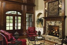 Country Interior - Family Room Plan #929-678