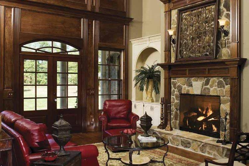 Country Interior - Family Room Plan #929-678 - Houseplans.com