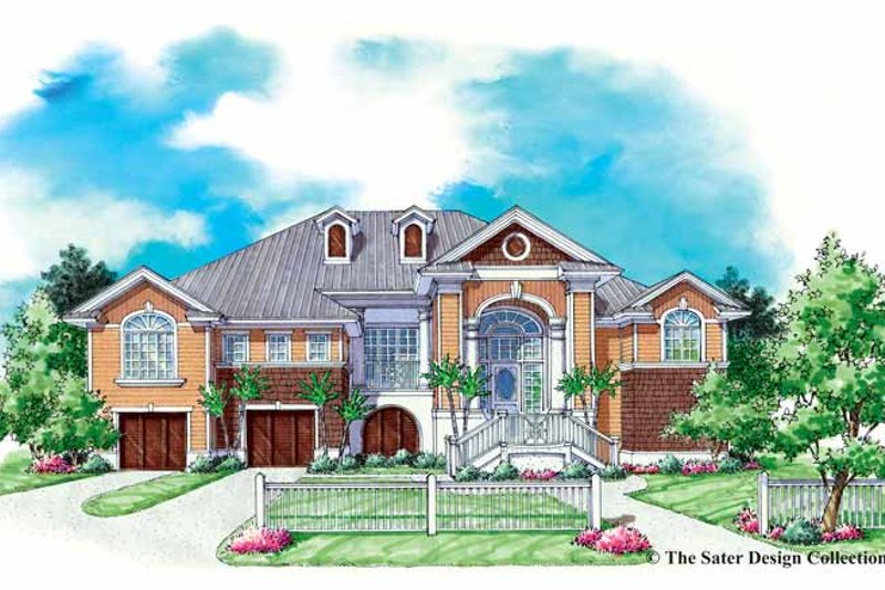 Traditional Exterior - Front Elevation Plan #930-153