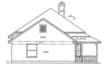 Ranch Exterior - Other Elevation Plan #472-58