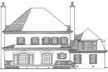 Dream House Plan - European Exterior - Rear Elevation Plan #137-173