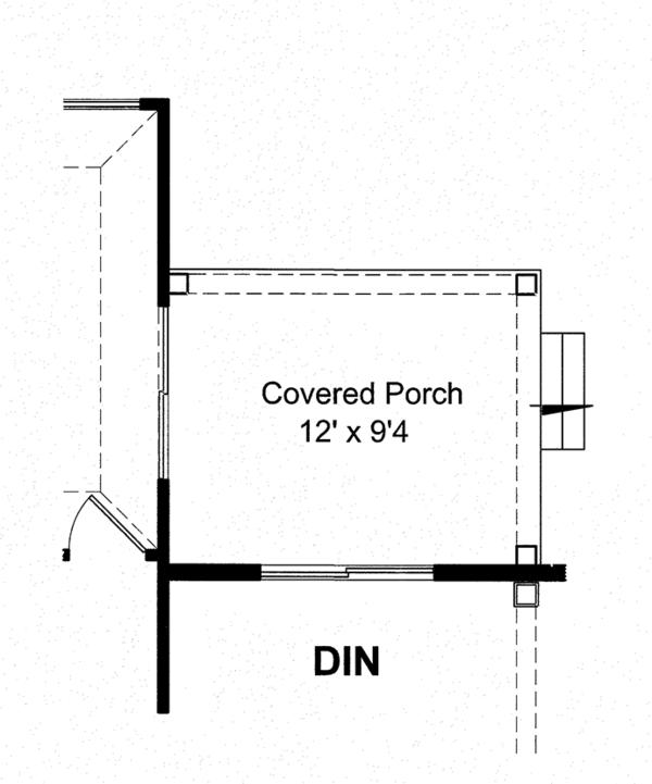 Craftsman Floor Plan - Other Floor Plan Plan #316-282