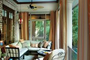 Mediterranean Style House Plan - 3 Beds 2.5 Baths 2909 Sq/Ft Plan #930-70