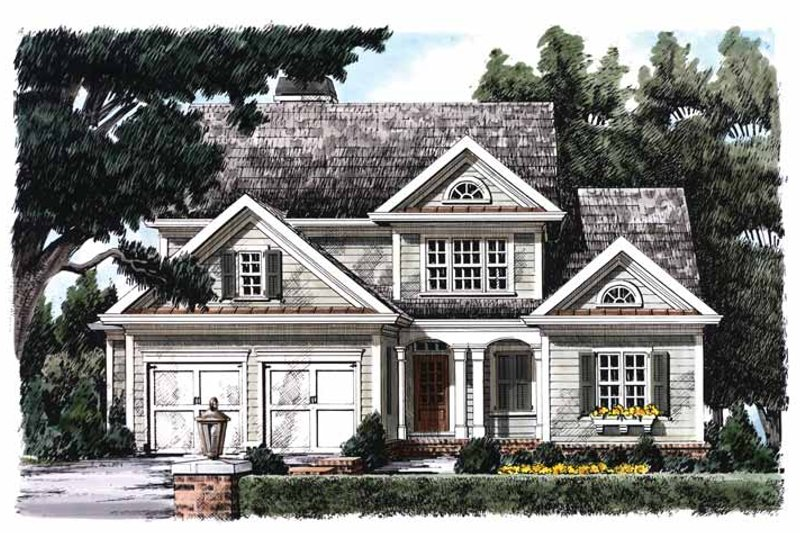 Home Plan - Country Exterior - Front Elevation Plan #927-841