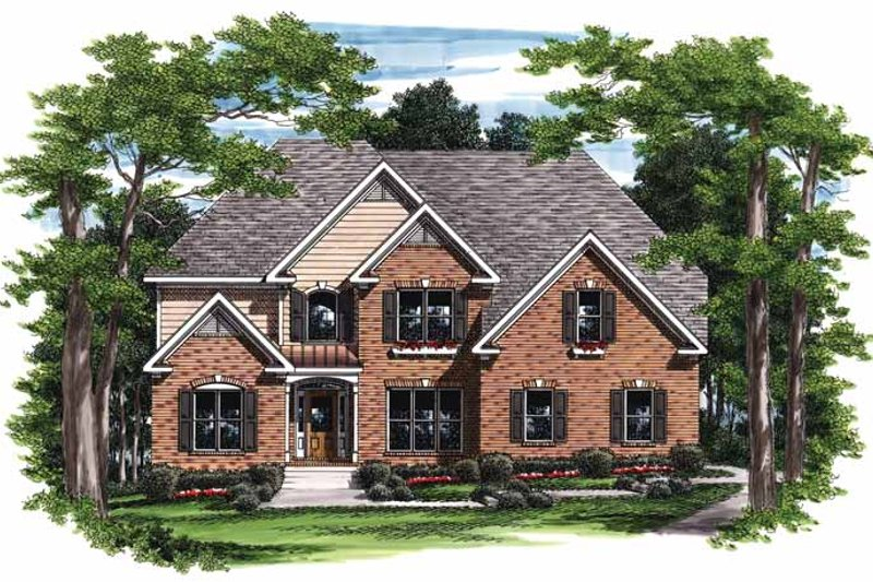 Traditional Exterior - Front Elevation Plan #927-705