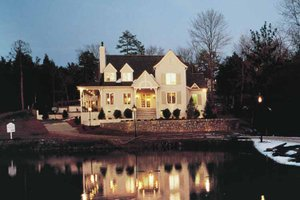 Architectural House Design - Country Exterior - Front Elevation Plan #453-142