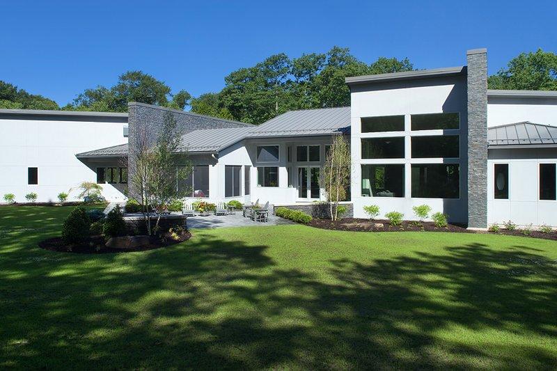 Contemporary Exterior - Rear Elevation Plan #928-255 - Houseplans.com